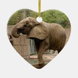 Ornamento del navidad del elefante africano adorno para reyes