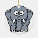 Ornamento del navidad del elefante ornamente de reyes