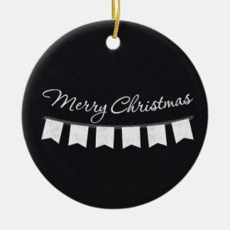 Ornamento del navidad del empavesado de la pizarra ornamente de reyes