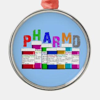 Ornamento del navidad del estudiante de la farmaci ornamento para reyes magos