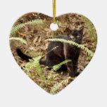 Ornamento del navidad del gato de Geoffroy Ornatos