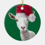 Ornamento del navidad del gorra de Santa de la cab Ornamentos De Reyes Magos