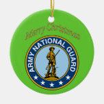 Ornamento del navidad del Guardia Nacional del Ornamento De Navidad