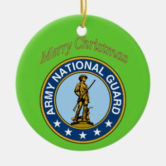 Ornamento del navidad del Guardia Nacional del ejé Ornamento De Navidad