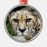 Ornamento del navidad del guepardo ornamentos para reyes magos