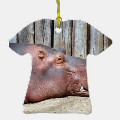 Ornamento del navidad del Hippopotamus Ornaments Para Arbol De Navidad