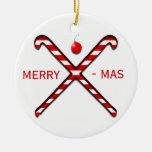 Ornamento del navidad del hockey hierba ornamentos para reyes magos