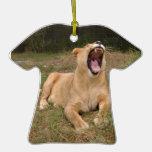 Ornamento del navidad del león de Barbary Ornamento De Reyes Magos