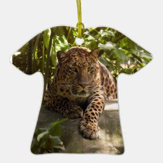 Ornamento del navidad del leopardo ornamente de reyes
