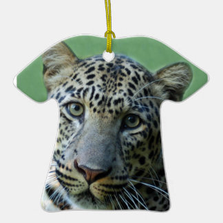 Ornamento del navidad del leopardo ornamentos de navidad