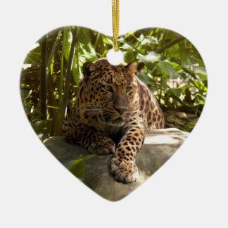 Ornamento del navidad del leopardo ornamentos de reyes