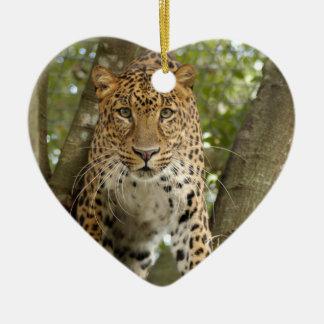 Ornamento del navidad del leopardo adorno de reyes