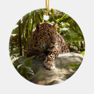 Ornamento del navidad del leopardo ornamento de reyes magos