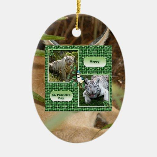 Ornamento del navidad del lince de Caracal Adorno Para Reyes