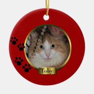 Ornamento del navidad del mascota ornatos