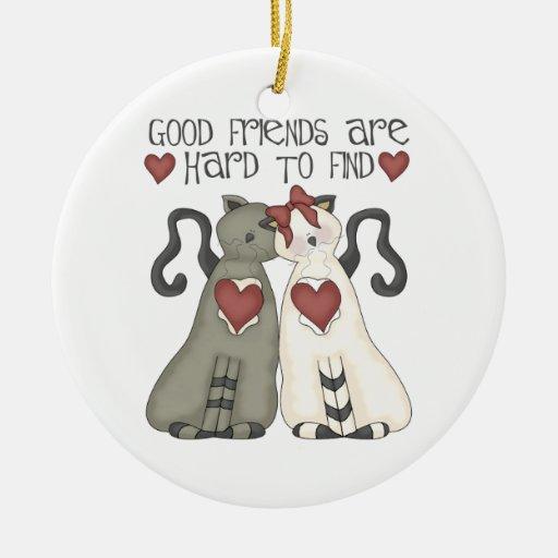Ornamento del navidad del mejor amigo ornamentos de navidad