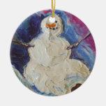 Ornamento del navidad del muñeco de nieve del ornamento para reyes magos