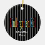 Ornamento del navidad del niño de la guardería ornato