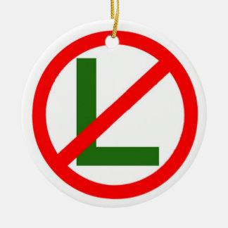 Ornamento del navidad del No-l de Noel Adorno Navideño Redondo De Cerámica
