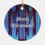 Ornamento del navidad del órgano adorno