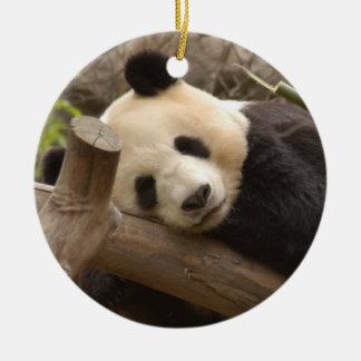 Ornamento del navidad del oso de panda ornamento de reyes magos