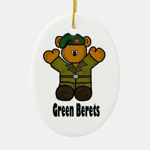 Ornamento del navidad del oso de peluche de la adorno para reyes