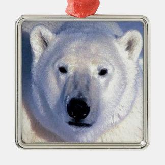 Ornamento del navidad del oso polar adornos