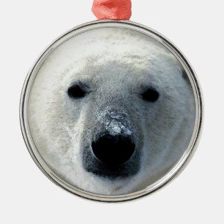 Ornamento del navidad del oso polar ornamente de reyes