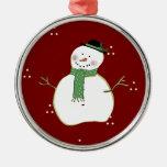 Ornamento del navidad del país ornamentos de navidad