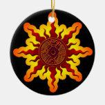 Ornamento del navidad del pájaro de Sun Ornamento Para Arbol De Navidad