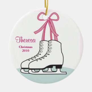 Ornamento del navidad del patinaje de hielo ornaments para arbol de navidad