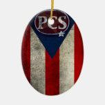 Ornamento del navidad del PCS Adorno De Navidad