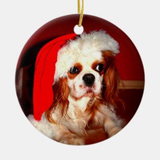 Ornamento del navidad del perro de aguas del ornamento para arbol de navidad