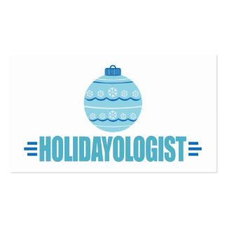 Ornamento del navidad del personalizar tarjeta de visita