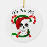 Ornamento del navidad del pirata ornamento de navidad
