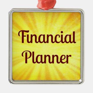Ornamento del navidad del planificador financiero ornamentos de reyes