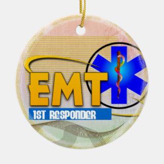ORNAMENTO del NAVIDAD del RESPONDEDOR de EMT 1r Ornamento Para Arbol De Navidad