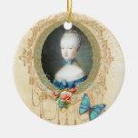 Ornamento del navidad del retrato de Marie Ornamento Para Reyes Magos