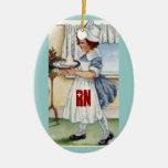 Ornamento del navidad del RN Ornamentos De Navidad
