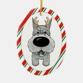 Ornamento del navidad del Schnauzer Ornamento Para Reyes Magos