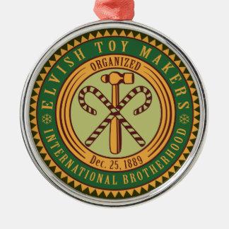 Ornamento del navidad del sello de la unión de los ornamentos de reyes
