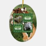 Ornamento del navidad del tigre de Bengala Ornamentos De Reyes Magos