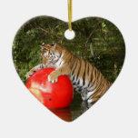 Ornamento del navidad del tigre de Bengala Adorno Para Reyes
