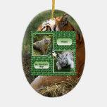 Ornamento del navidad del tigre de Bengala Ornamento Para Arbol De Navidad