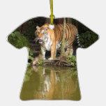 Ornamento del navidad del tigre de Bengala Ornato