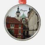 Ornamento del navidad del viaje de Praga Ornamento De Reyes Magos