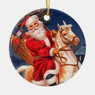 Ornamento del navidad del vintage adorno de reyes