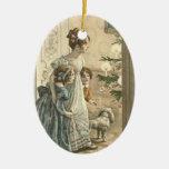 Ornamento del navidad del vintage ornamento de navidad