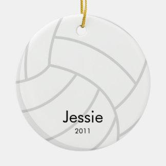 Ornamento del navidad del voleibol ornamentos de reyes