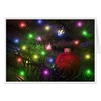 Ornamento del navidad tarjetas